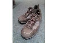 size 12 UK, Berghaus Men's Explorer Trail Low GTX Hiking Shoe Brown/Burnt Red