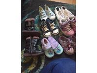 Girls shoe bundle size 6