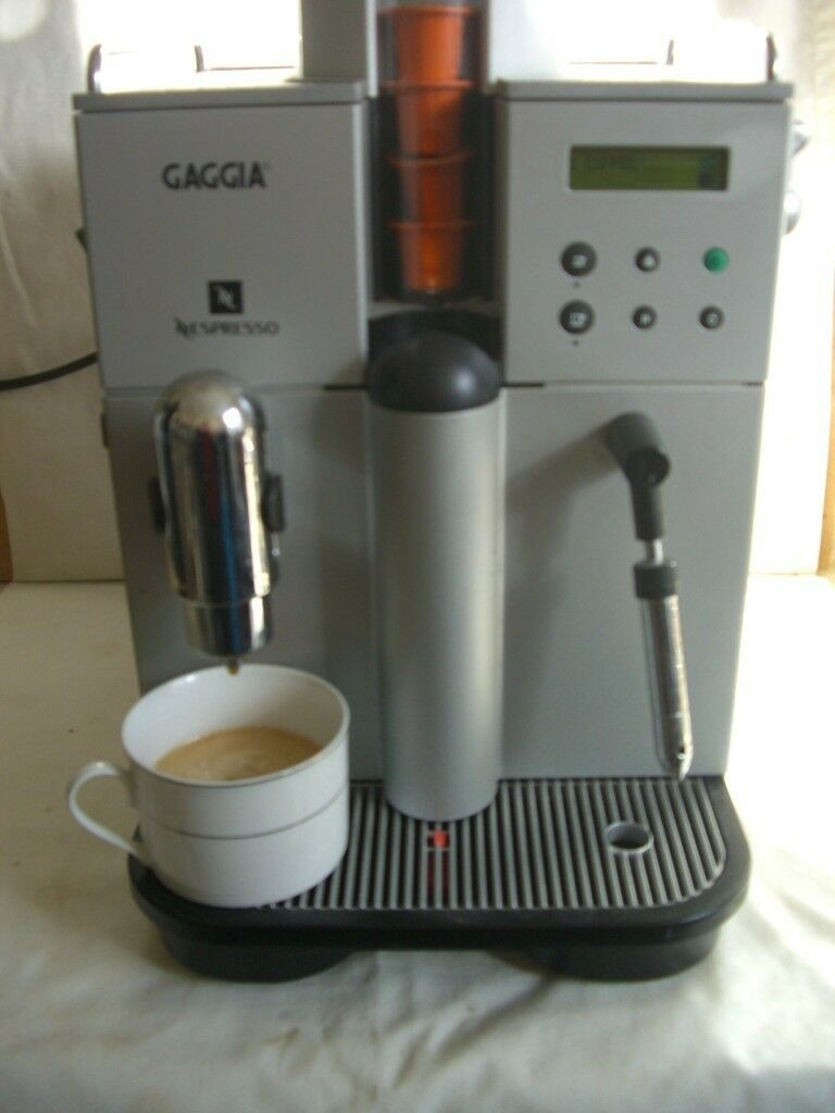 Gaggia Nespresso Coffee Machine In Wallasey Merseyside