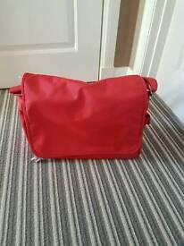 Red change bag