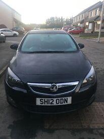 2012 Black Vauxhall Astra SRI, 5 doors, low mileage