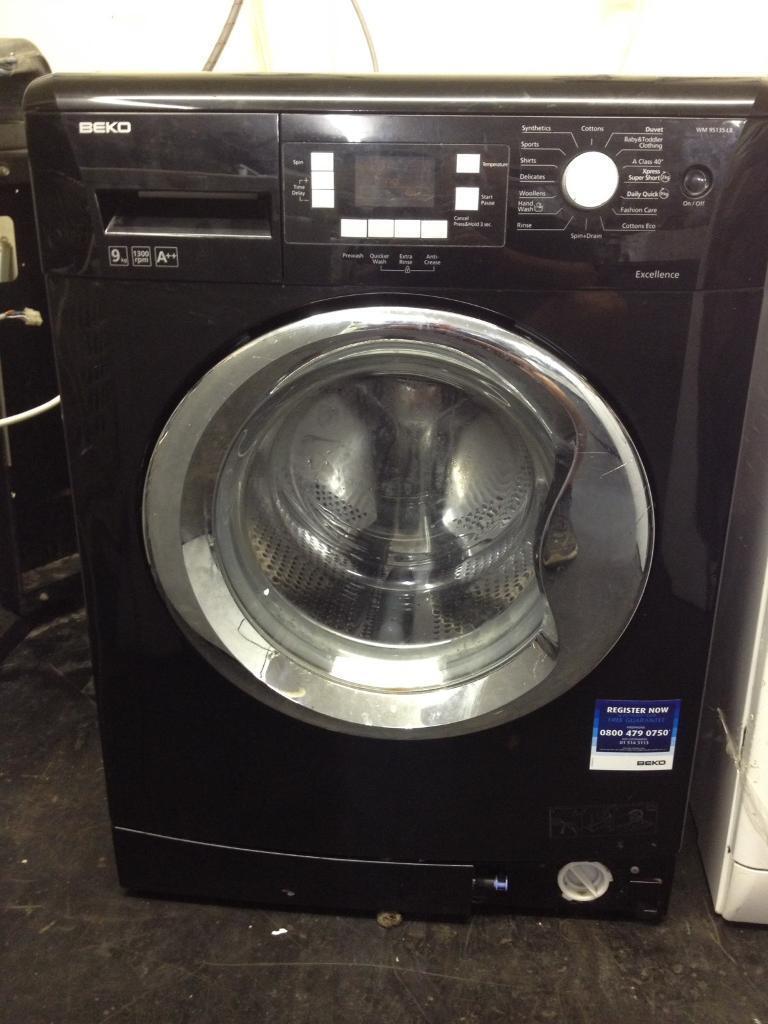 Washing machine Beko 9kg black