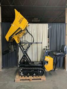 HOC MMT60 - HONDA GX390 HIGH TIP TRACK DUMPER + 3 YEAR WARRANTY + FREE SHIPPING *FINANCING AVAILABLE!
