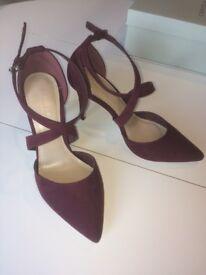 2 pairs women's designer heels (Kurt Geiger, Jimmy Choo), BNIB bargains