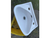 Small washhand basin