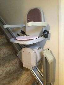 Acorn Stair Lift serviced regularly FREE Buyer dismantles and collects