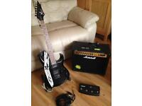 X Cor electric guitar Marshall Amp & accessories