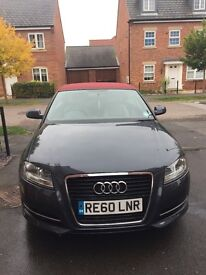Audi A3 Cabriolet 2010 very low mileage