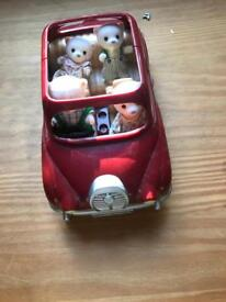 Sylvanian families red car