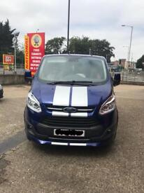 Ford transit custom sport NOT m sport limited trend long wheelbase hightop crewcab NO VAT LOW MILES