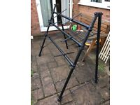 A frame 3 tier keyboard stand