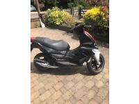 Gilera runner sp 50cc with alarm and immobiliser
