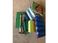 Collection of 8 travel games. Great for holidays/camping