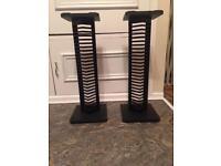 2 Speaker & CD Holder Racks