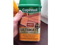 Cuprinol hardwood furniture oil