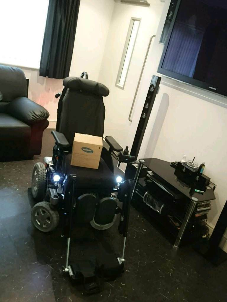 Invacare Storm 4 X-Plore True Track Plus Power Wheelchair Mobility