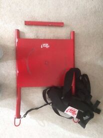 Agility Strength Field Training Aid Speed Sled With Padded Shoulder Harness