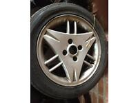 Ford Fiesta rims and tyres 15 inch