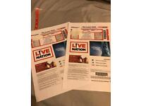Niall Horan tickets Thurs 15th March