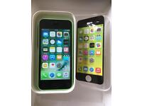 iPhone 5c Unlocked Green Excellent condition