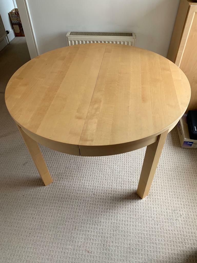 Ikea Bjursta round kitchen table | in Leith, Edinburgh ...