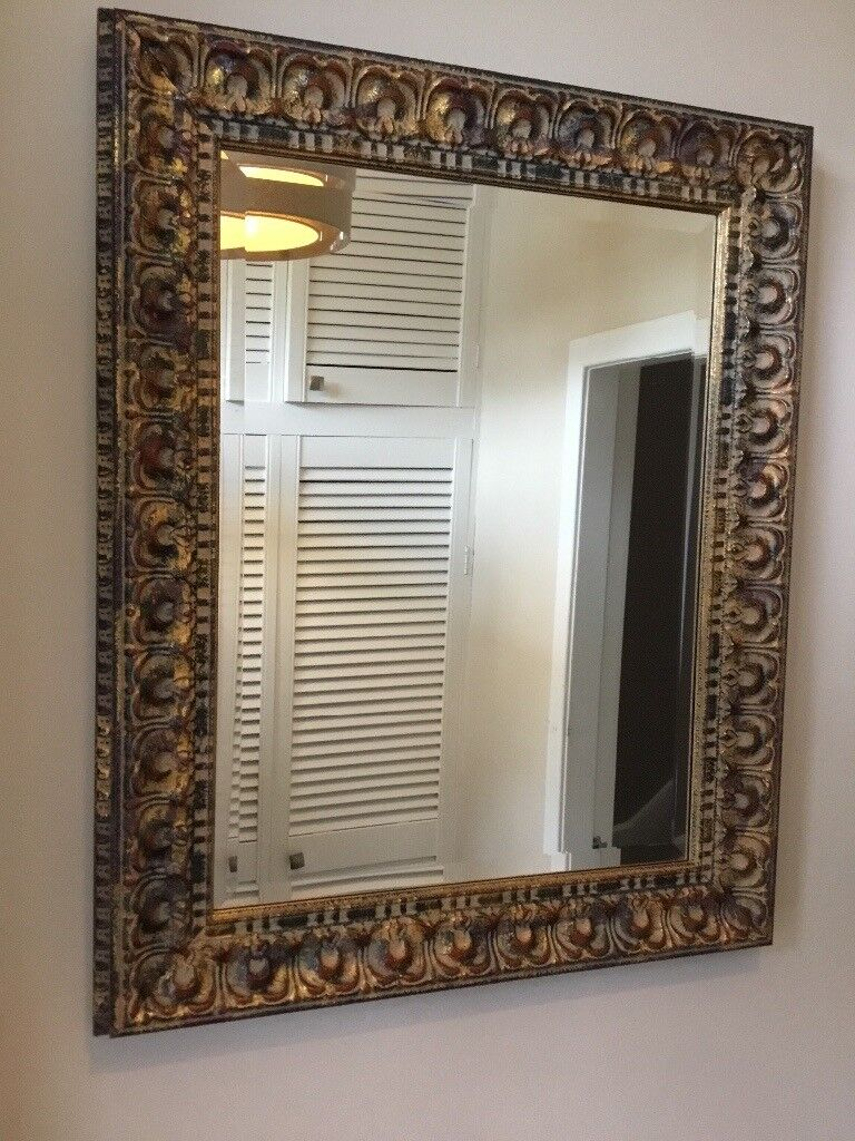 Beautiful Ex Anderson S Of Inverurie Ornate Mirror Large