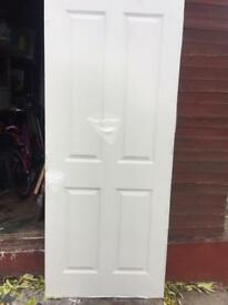 Wood door 33x78 inches