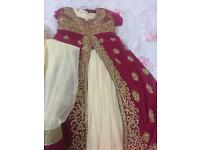 Girls Asian Dress-Size 34