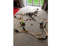 Thomas the tank engine and friends. Trains, carriages, track, bridges