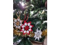Handmade, Unique Christmas Decorations: Angels, Snowflakes And More