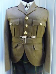 Scottish Regiments Regt Kilt Cut Army FAD No2 Uniform Jacket Scots Doublet 42