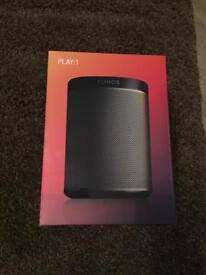SONOS PLAY:1 wireless HIFI home speakers