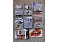 7 Nintendo 64 games & manuals - ExtremeG/NFL/V-Rally/3DHockey/TwistedEdge/Chopper Attack/Track&Field