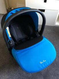 Silver Cross Simplicity blue car seat