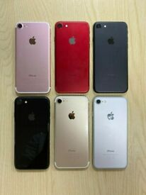 APPLE IPHONE 7 UNLOCKED ALL COLOURS AVAILABLE FROM
