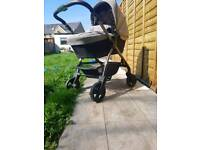 Pram & Pushchair Siver Cross used for 2 months, Rrp was £920