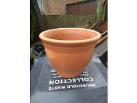 Yorkshire terracotta plant pot ,planter ,garden pot.