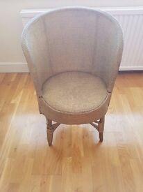 Lloyd Loom Tub Chair