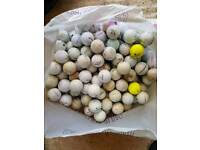 180 golf balls. All used pickups. Good for practice