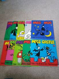 Meg and Mog book collection