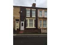 FIRST MONTHS RENT HALF PRICETwo bedroom unfurnished mid Terrace property on Beatrice Street L20