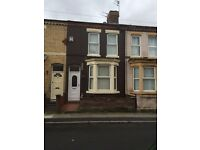Two bedroom unfurnished mid Terrace property on Beatrice Street Bootle, just off Hawthorne Road,