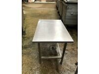 Stainless Steel Commercial Catering Table