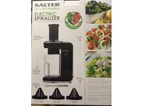 Salter Electric Spiralizer brand new used once