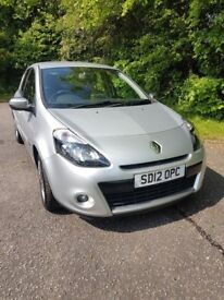 Excellent condition 2012 Renault Clio 1.2 Dynamique (TomTom) ** 2 keys, brand new tyres!