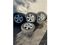 Original Toyota RAV4 17 inch Alloy Wheels and tyres x 4