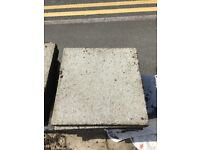 Bargain - collect today 24 paving slabs