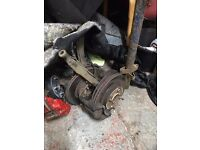 Honda Integra 96 Civic MB6 4x114 hubs 282/262