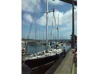 Original Main mast and Mizzen mast from 55ft Swan yawl