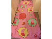 Peppa pig duvet and pillow set